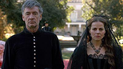 �guila Roja - Hernan y Lucrecia se casan