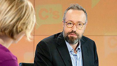 Girauta afirma en Los Desayunos de TVE que su partido quiere estabilidad y que si eso significa que Ciudadanos entre en el Gobierno estarán encantados