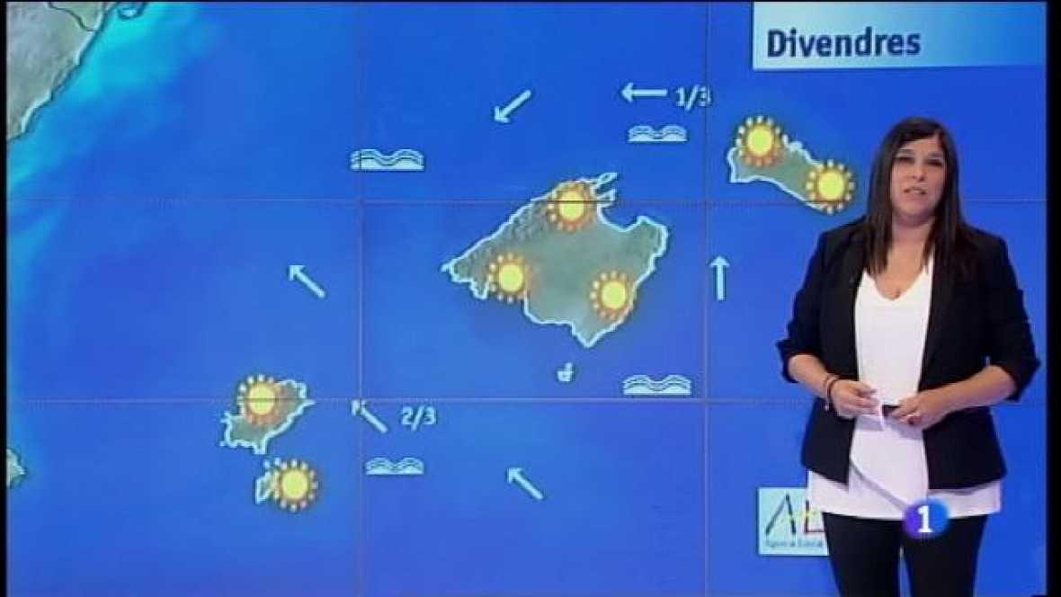 El temps a les Illes Balears - 30/06/16