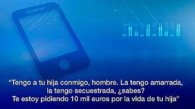 Estafa en secuestros vía telefónica desde Chile