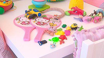 Unos 650 juguetes se retiran al año en España porque no cumplen la normativa