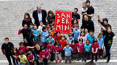Pamplona se prepara para las fiestas de San Fermín