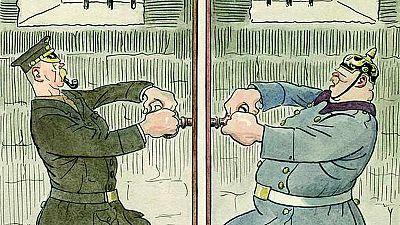 'Sileno, tambores en la batalla', una mirada con humor a la I Guerra Mundial