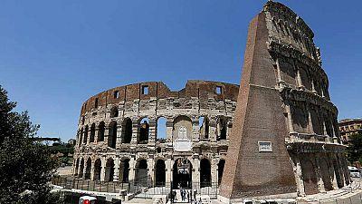 El Coliseo de Roma recupera su esplendor tras tres años de restauración