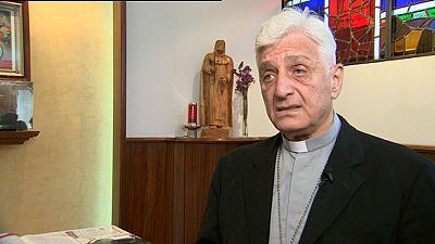 El obispo de Alepo visita España para pedir ayuda