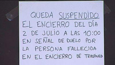 Un hombre muere en un encierro de Valladolid