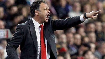 Alfaro y Prieto estuvieron a las órdenes de Joaquín Caparrós. Ahora evalúan las cualidades del máximo candidato a suceder a Del Bosque al frente de la selección española.