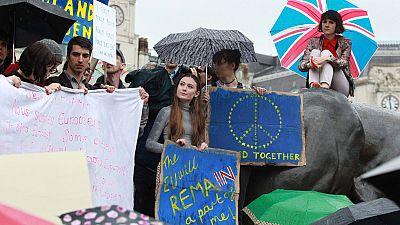 Gran movilización en Londres en contra del Brexit