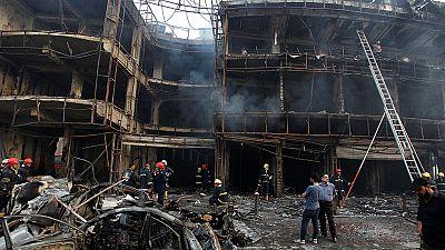 Decenas de muertos en un sangriento atentado del EI en Bagdad