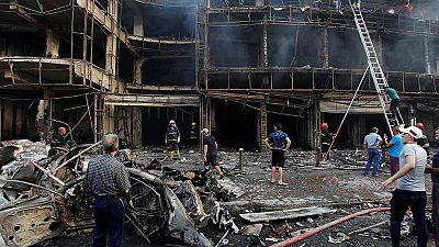 Decenas de muertos en un atentado en la zona comercial de Bagdad