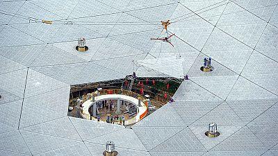 China concluye la construcción del mayor radiotelescopio del mundo
