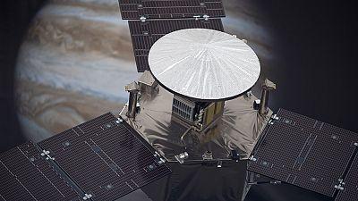 Juno llega este lunes a Júpiter tras cinco años de misión