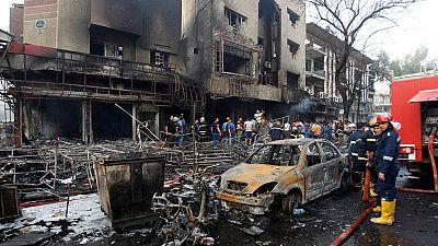 Al menos 125 muertos en un atentado en Bagdad reivindicado por el Estado Islámico