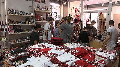 Pamplona va cogiendo ambiente de fiesta a dos días del 'Chupinazo'