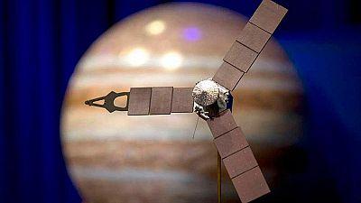 La sonda Juno hace historia y llega a la órbita de Júpiter