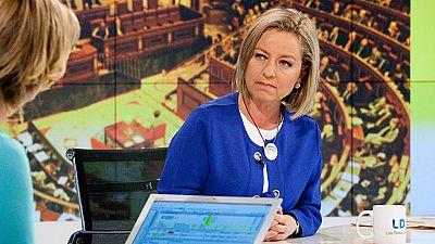 """La diputada de Coalición Canaria, Ana Oramas, ve """"gran dificultad"""" para que haya Gobierno antes de octubre"""