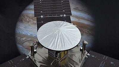 'Juno' ya está en la órbita de Júpiter
