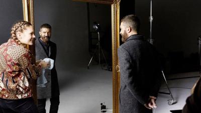 Amigas y Conocidas - Antonio Banderas lanza su primera colecci�n de moda masculina