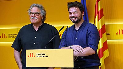 PNV y ERC mantienen su 'no' tras reunirse con Mariano Rajoy