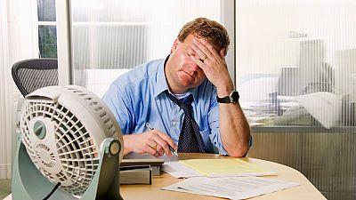 Las altas temperaturas del verano pueden afectar a las condiciones de trabajo