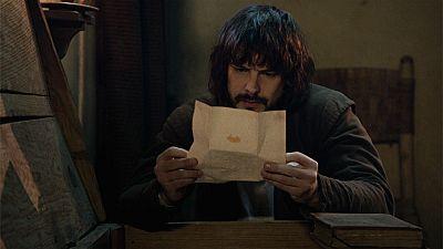 �guila Roja - Gonzalo encuentra una carta de Margarita
