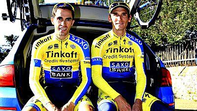 """Alberto Contador (Tinkoff) afirmó antes de la salida de la sexta etapa que se disputa entre Arpajon-sur-Cére y Montauban que en la jornada precedente su compañero checo Roman Kreuziger """"tomó decisiones por su cuenta"""" ajenas a las marcadas por el equi"""