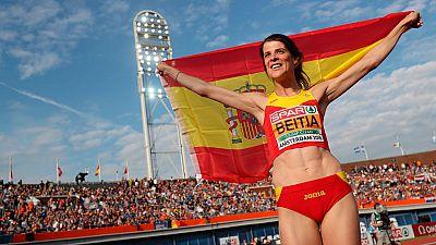 Ruth Beitia consigue tres oros europeos consecutivos, una hazaña inédita