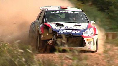 Automovilismo - Cto. de Espa�a Rallyes de tierra 'Rallye del Bierzo' - ver ahora