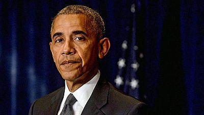 Obama condena desde Varsovia el asesinato de los policías y de los dos afroamericanos