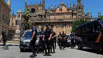 Sevilla se blinda para la llegada de Barack Obama