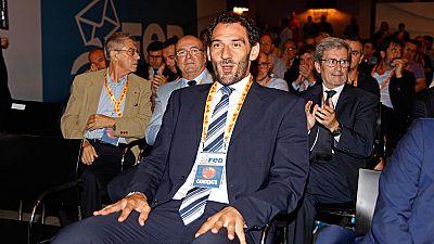 Jorge Garbajosa, nuevo presidente de la Federación de Baloncesto