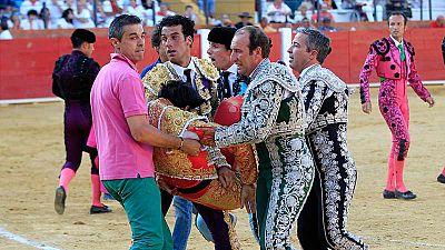 Muere el torero Víctor Barrio a los 29 años por una cornada en la plaza de Teruel