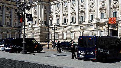 Un amplio despliegue de seguridad vigila la estancia de Obama en España