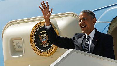 Obama visita en la Base Naval de Rota a las tropas