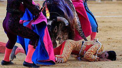 Velan el cadáver del torero Víctor Barrio