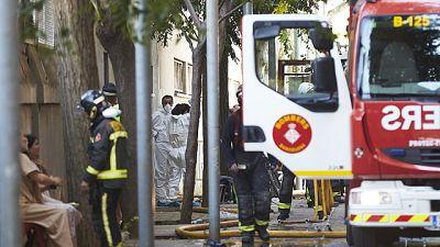 Mueren dos menores y otras ocho personas resultan heridas, entre ellas un niño muy grave, en un incendio en Barcelona