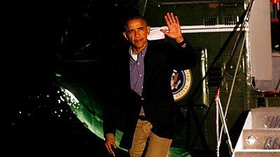 Obama agradece a Felipe VI el trato recibido durante su visita a España