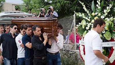 Funeral en Sepúlveda del torero Víctor Barrio tras ser corneadopor un toro