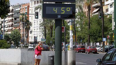 Riesgo muy alto de incendio forestal en la mitad de las provincias españolas por altas temperaturas