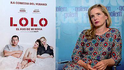 Julie Delpy presenta en Madrid su nueva película como directora 'Lolo, el hijo de mi novia'