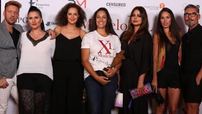 La malague�a Iraya Villalba gana el certamen de modelo XL