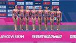 De Londres a Río - Natación sincronizada