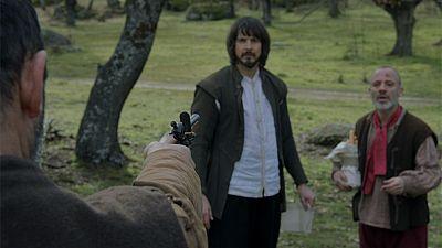 """�guila Roja - El """"t�o Emilio"""" dispara a Gonzalo"""