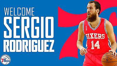 Sergio Rodr�guez vuelve a la NBA de la mano de los Sixers