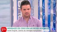 """David Enguita: """"Me asust� que supiera donde viv�a"""""""