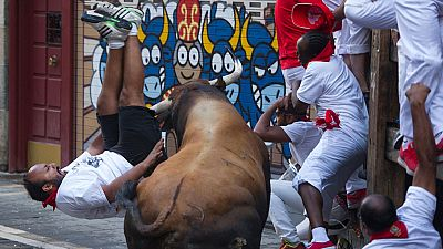Los sanfermines acaban con un balance de 12 heridos por asta de toro