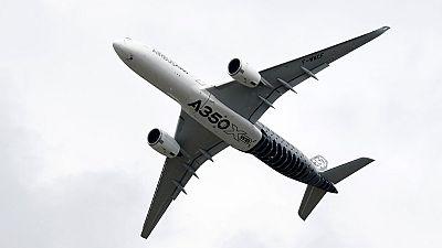 Un avión que despega en vertical y el caza militar más caro del mundo, estrellas del  salón aeroespacial de Farnborough