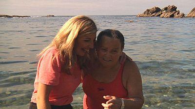Mar�a Antonia, socorrista de por vida