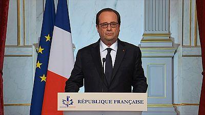 """Hollande sobre el atentado en Niza: """"No se puede negar el carácter terrorista"""""""