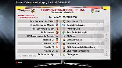 LaLiga 2016/17 arranca con Barça - Betis y Real Sociedad - Real Madrid